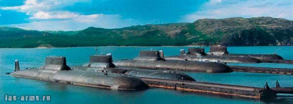 подводные лодки антей и акула