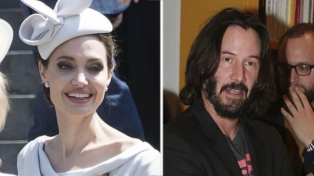 Анджелина Джоли закрутила роман с Киану Ривзом