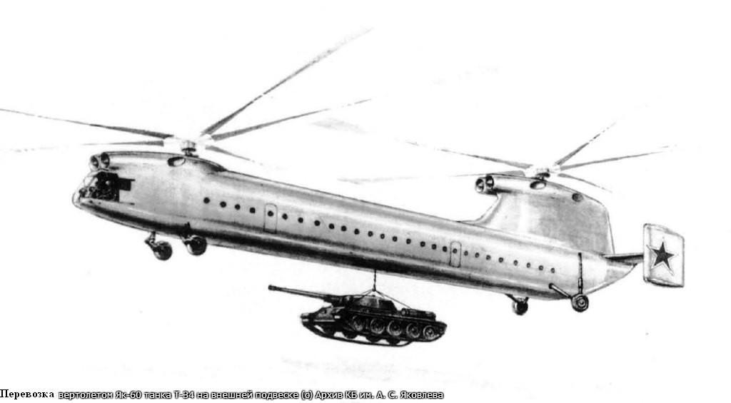 «Летающий вагон» Як-60