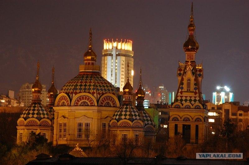После фотографий. Итак фотографии Алматы. которые попали в Топ 30 Яндекса