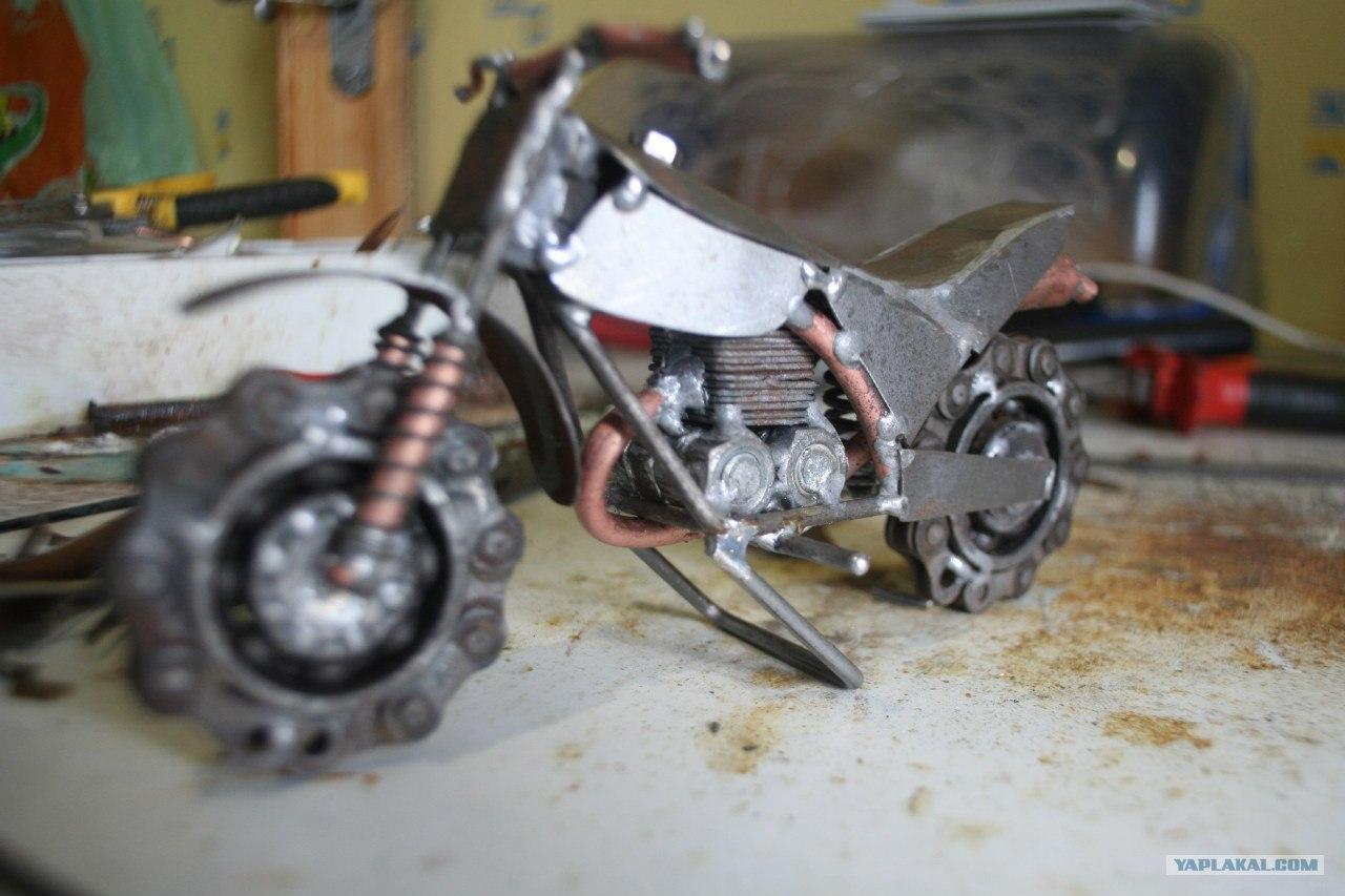 Как покрасить мотоцикл в домашних условиях 27