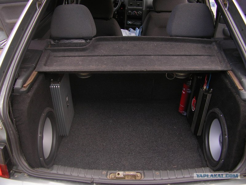 Фото багажника ваз 2115