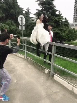 Будте осторожны на свадьбах!