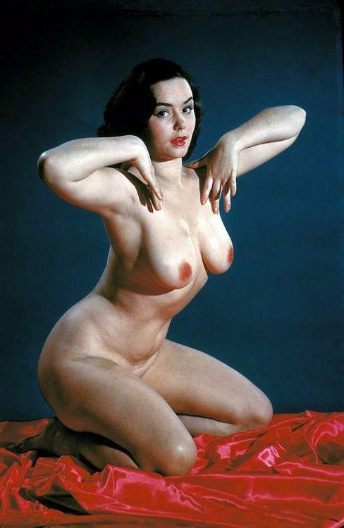 Об анорексии тогда и не слыхали. Красота с точки зрения 1950-60 г.