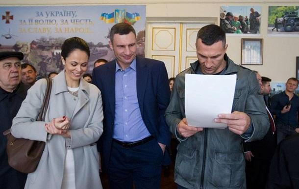 В Киеве на выборах лидирует Кличко