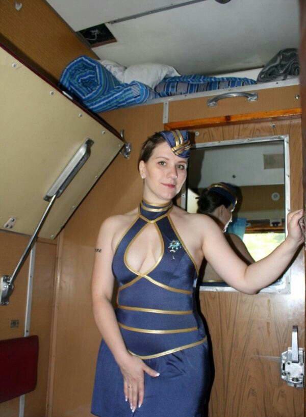 Интересные секс порно проводника в поезде