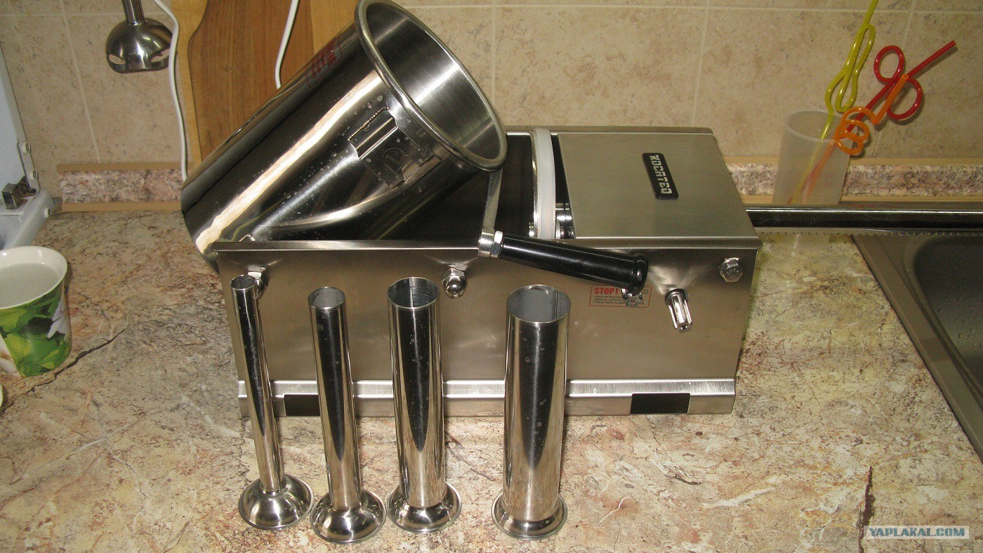 Шприц для набивки колбасы в домашних условиях 918