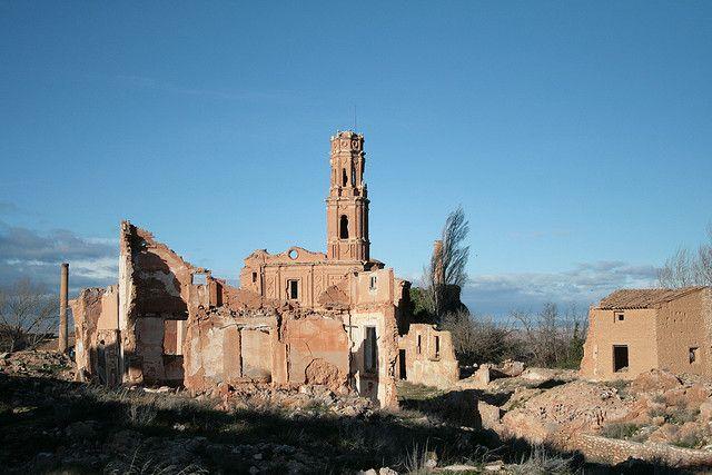 Город-призрак в Испании