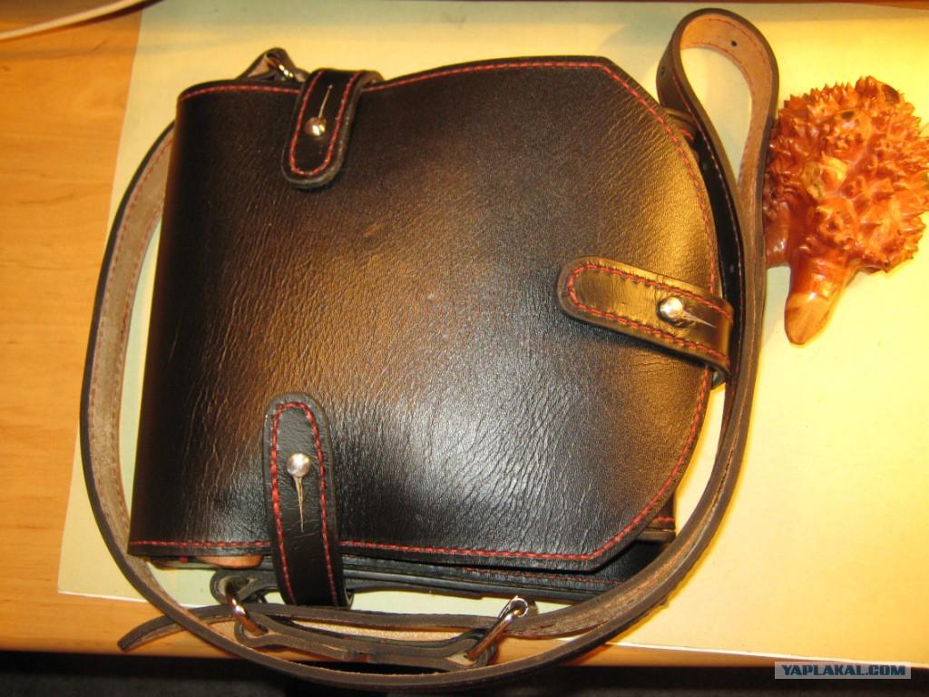 Кожаная сумка своими руками без швейной машинки видео