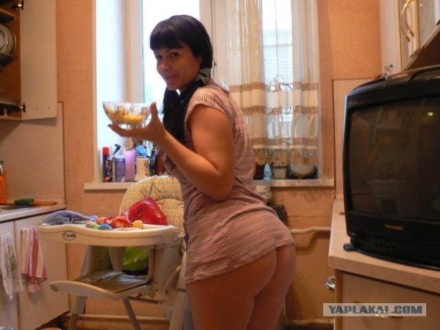 русские мамочки домашнее