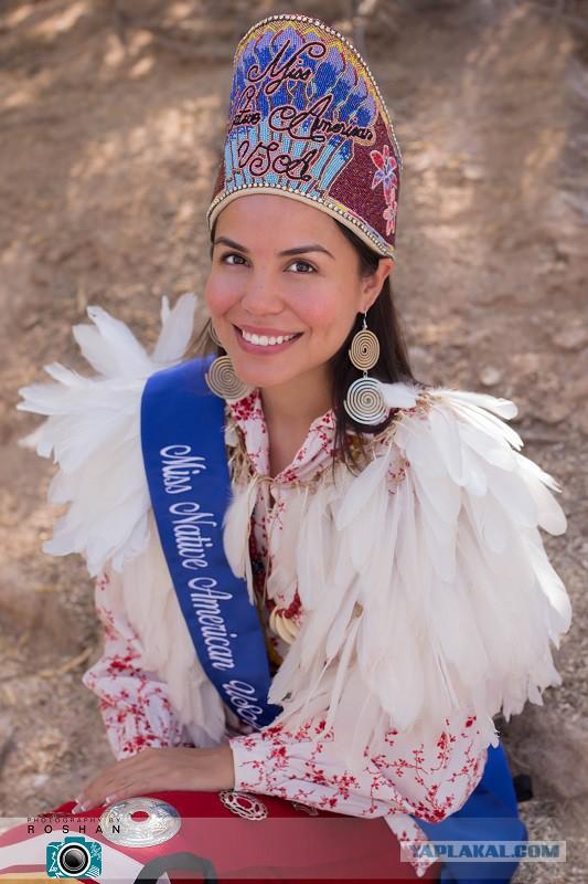 Победительницы индейских конкурсов красоты
