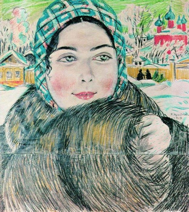 Загадка самой известной картины Кустодиева «Купчиха за чаем»