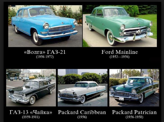 Те самые машины. От Германии до Австралии