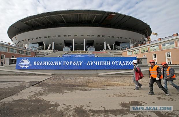 Стадион Крестовский. Новые силы в строительстве.