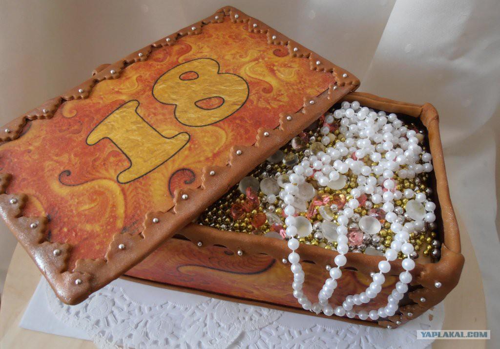 Шкатулка с драгоценностями торт