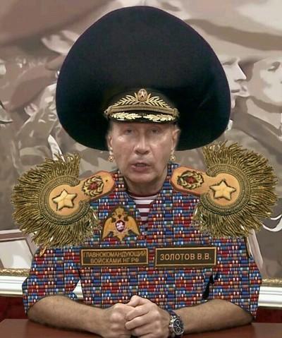 Виктор Золотов оценил свою честь в 1 миллион рублей