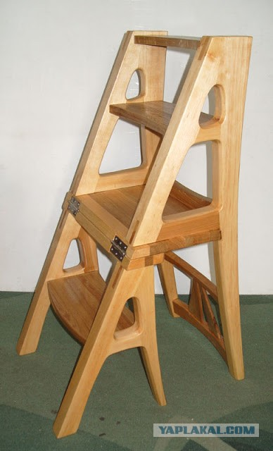 Стул-стремянка трансформер деревянный своими руками - TheDaily.Ru
