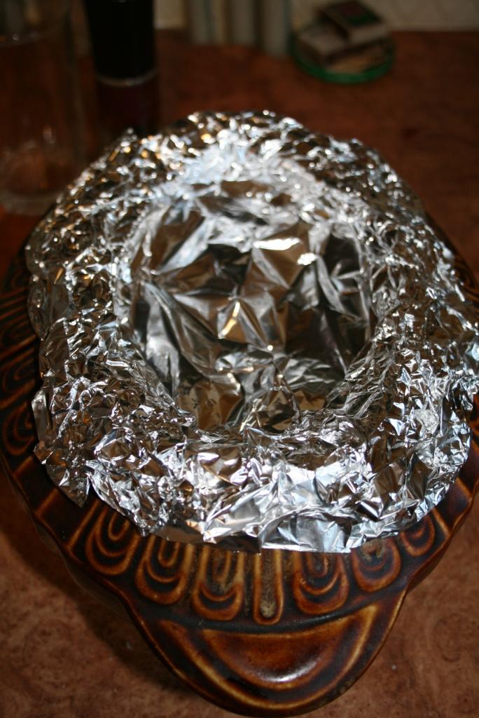 Как сделать шапок у из фольги