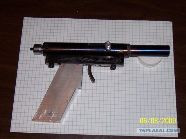 Самодельное стрелковое оружие, изъятое на Северном Кавказе