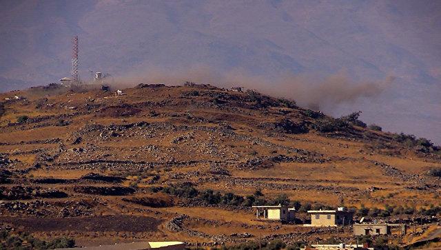 Израиль нанес авиаудар по сирийской армии близ Голанских высот