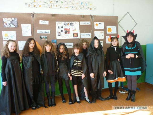 Директора школы уволили за проведение Хэллоуина