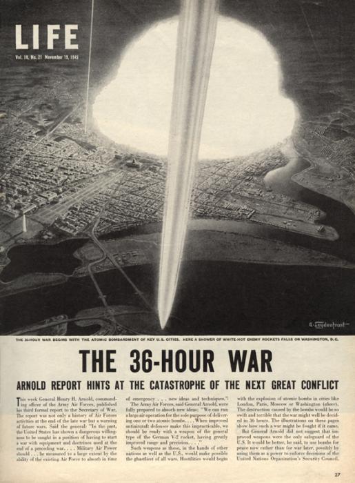 Ядерная война - взгляд из 1945-го года