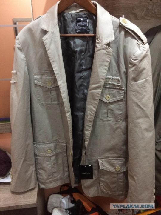 Куртка-пиджак Marc Ecko. Новая! xxl (Москва)