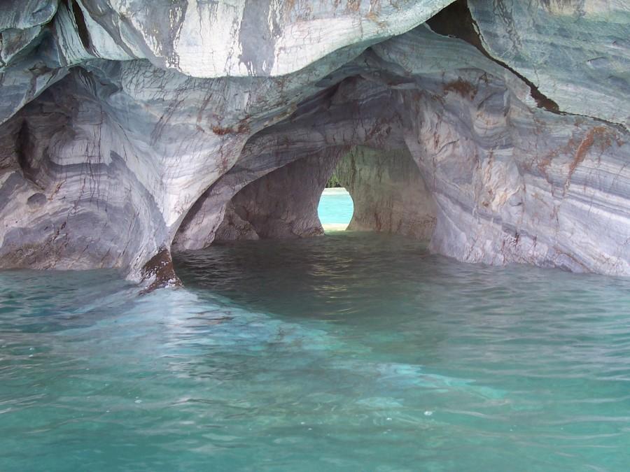 Расположение Мраморных Пещер