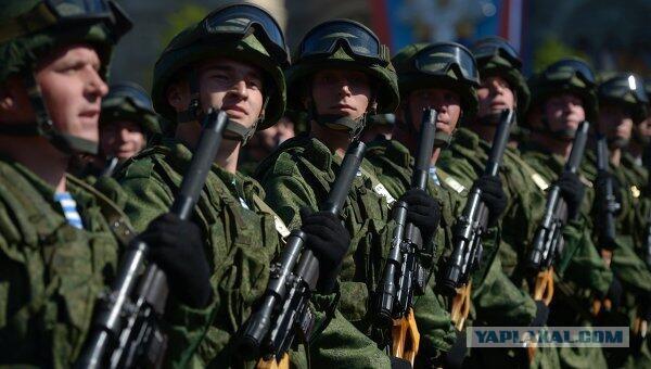 Российские военные гордятся службой