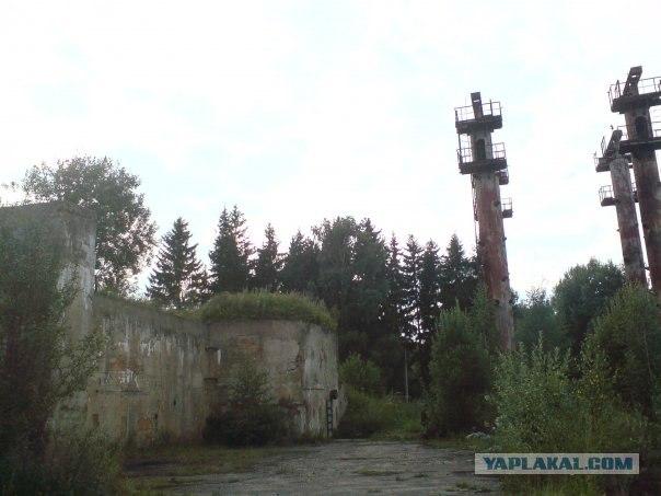 Заброшенная часть ПВО в МО