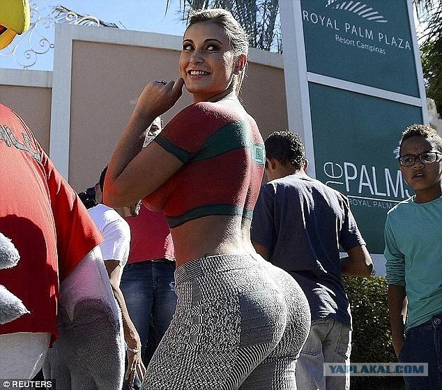 Самый большой бразильская жопа