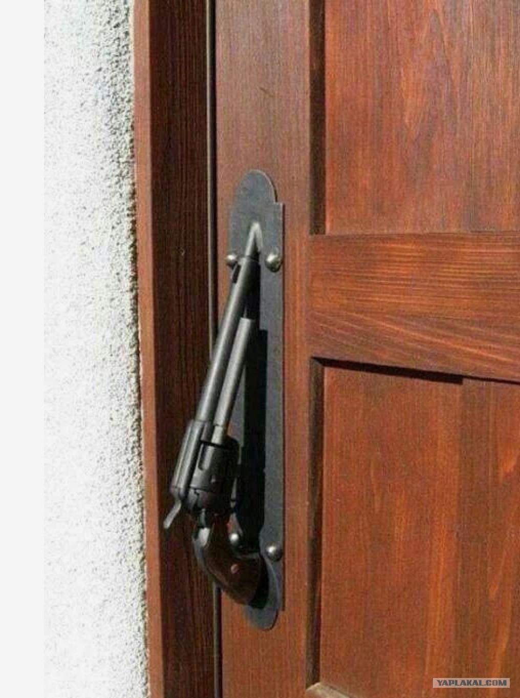 Как сделать ручку от двери комнаты