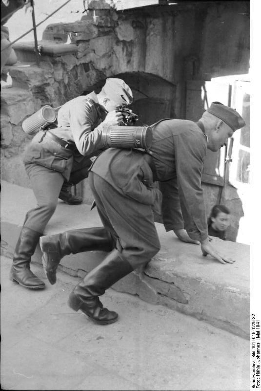 Снимки немецкого военного фотографа во время Второй мировой войны