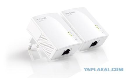 Сетевой адаптер HomePlug AV TP-LINK TL-PA2010KIT