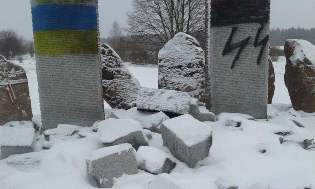 МИД Польши: «Это Москва взорвала памятник убитым СС «Галичина» полякам»