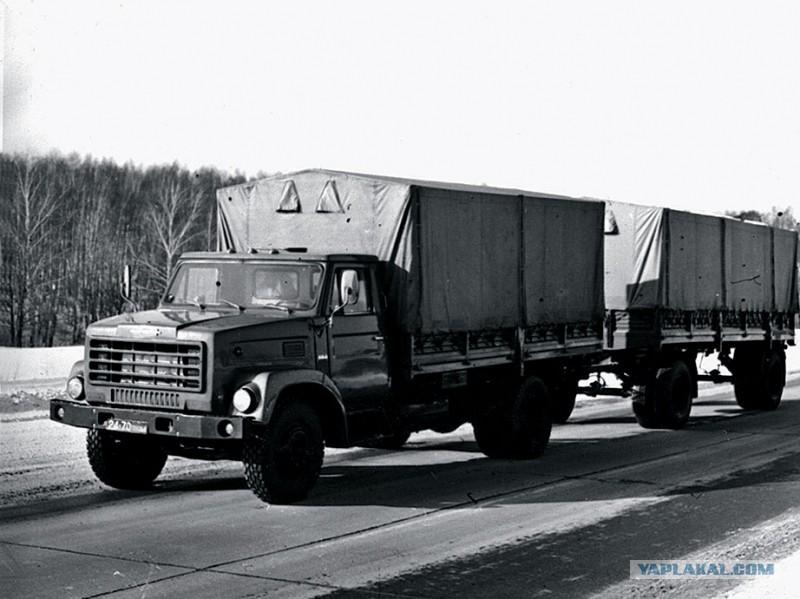 хорошо знакомый шведам грузовик