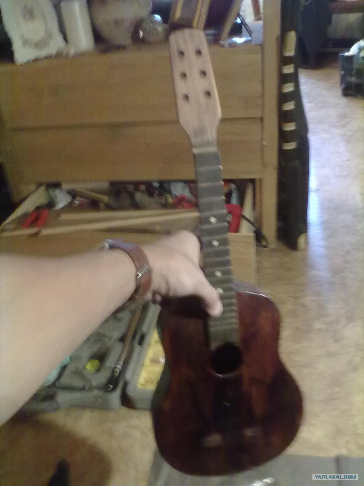 Как отреставрировать гитары своими руками