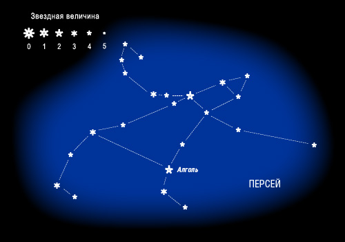 Из созвездия Персея получен инопланетный сигнал
