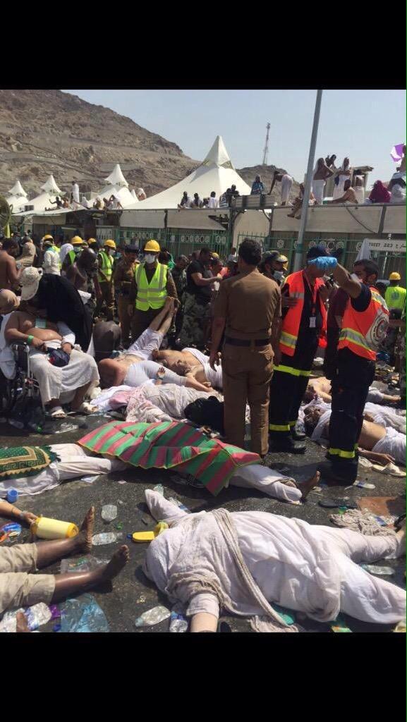 Более 150 человек погибли в Мекке из-за давки