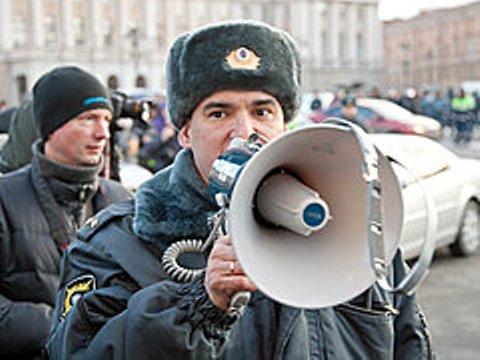 В Волгограде студент, ударивший полицейского во время стихийного митинга, стал фигурантом уголовного дела