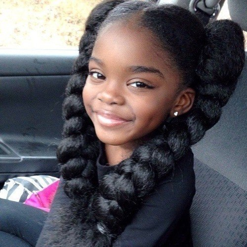Cute hairstyles for black girls with natural hair