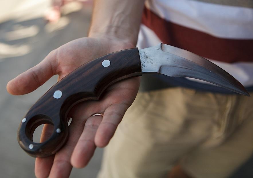 Как сделать нож настоящий
