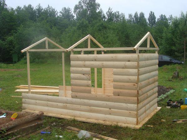 Как на даче построить дом