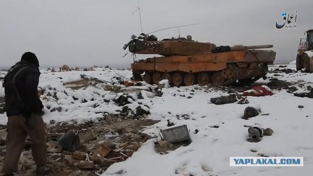 В Сирии разрушен миф о немецких танках