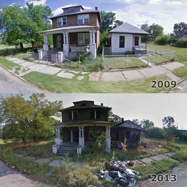 Как разрушается Детройт