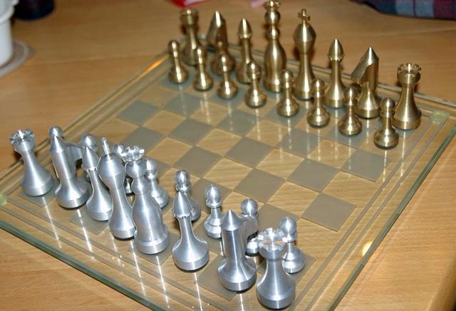 Как сделать шахматы своими руками фото