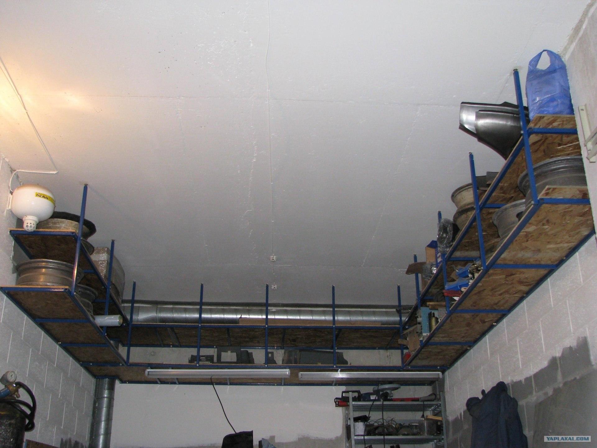 Чем подшить потолок в гараже лучшим способом своими руками 860