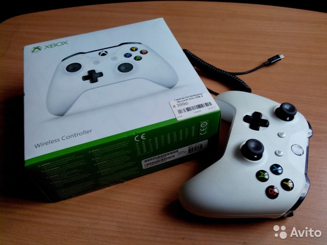 Геймпад Microsoft Xbox One S + Bluetooth адаптер