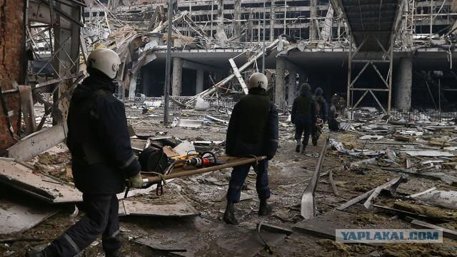 Ополченцы нашли почти четыре сотни тел украинских