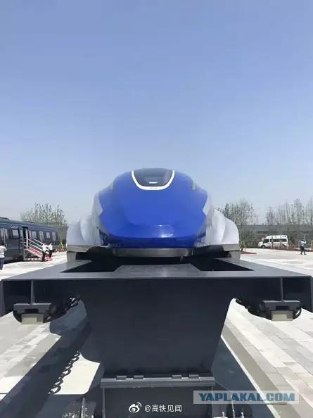 В Китае продемонстрировали прототип высокоскоростного поезда на магнитной подушке
